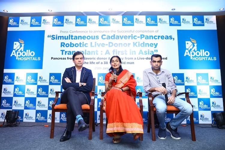 Asias first simultaneous Pancreas-Kidney transplant performed at Apollo Chennai