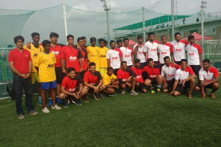 In its 3rd year in Bluru Aon-CRY soccer event seeks to help underprivileged kids