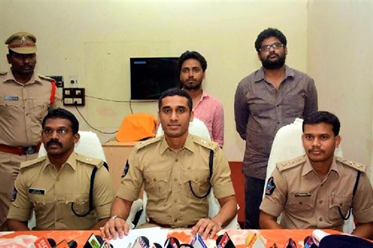 Andhra police arrest two alleged Maoists for conspiracy to kill Uni of Hyd VC Appa Rao