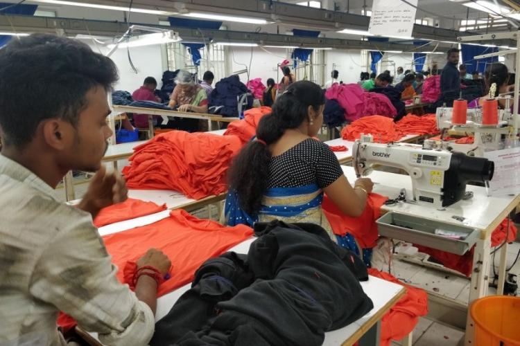 Apparel industry struggles