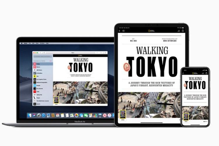 Time WSJ to New Yorker Apple launches news aggregator service for its users