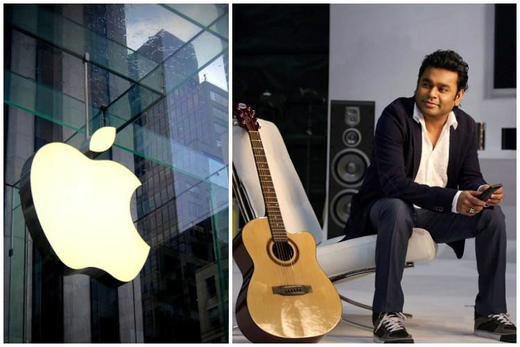 Apple joins hands with AR Rahman to set up two music labs in India