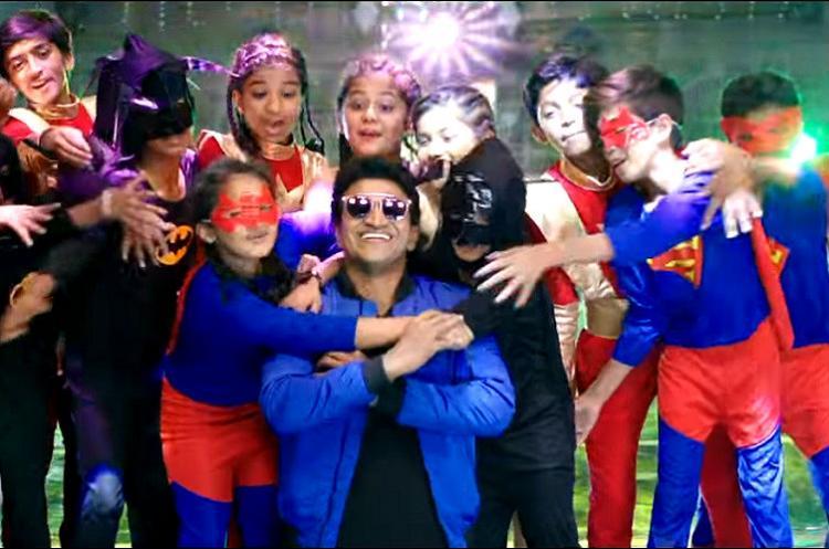 Watch Puneeth Rajkumar wows audiences with Appu dance goes viral
