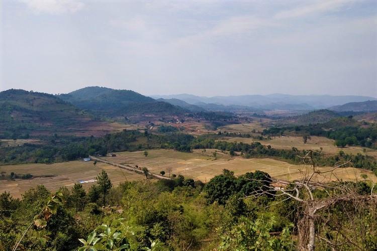 Green hills in Araku Valley in Visakhapatnam