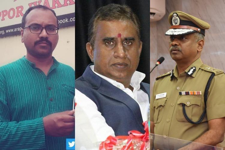 Chennai Police Commissioner trying to tarnish our image Anti-corruption NGO Arappor Iyakkam