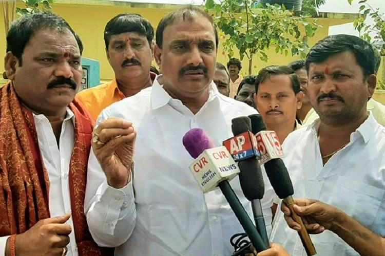 Watch TRS MLAs comments on CAA triggers row BJP files police complaint