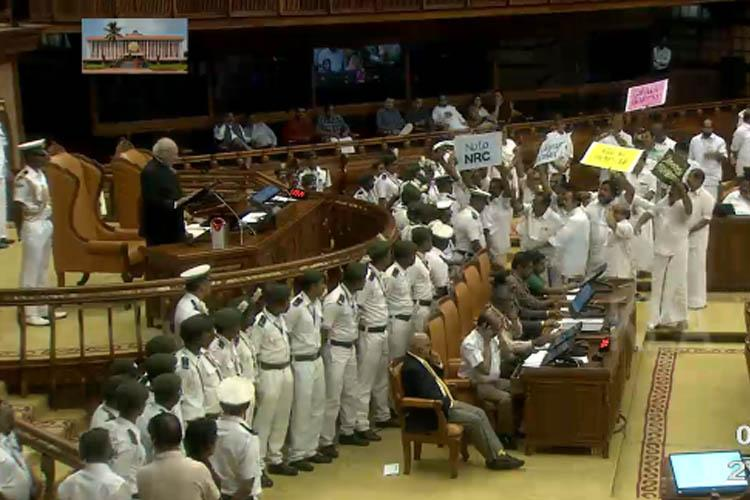 Kerala Governor reads out anti-CAA para in Assembly says CM Pinarayi asked him to