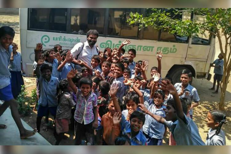 This man in a van has been making science easy and fun for TN students for 9 years