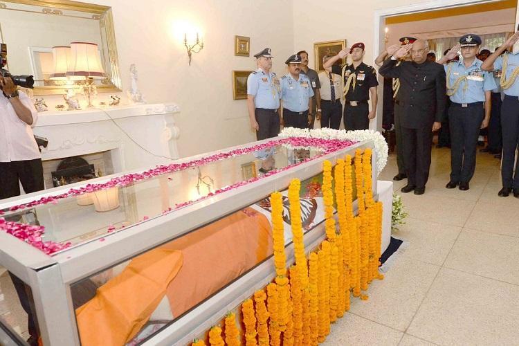17-gun salute Fly-past as India bids adieu to Marshal Arjan Singh