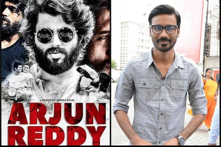 Dhanush acquires Tamil remake rights of Arjun Reddy
