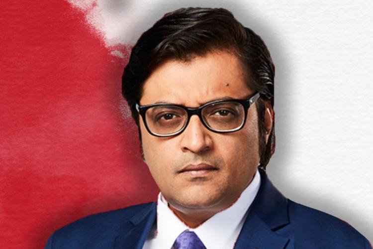 Arnab Goswami close up