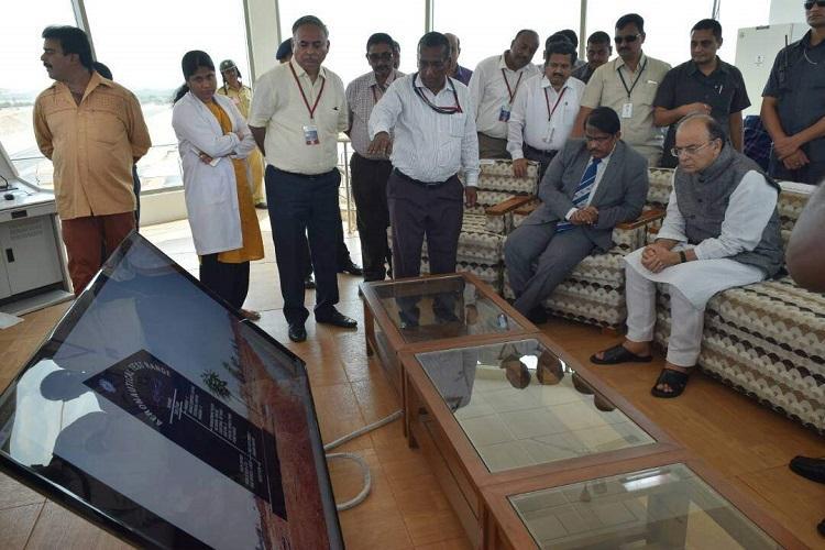 Arun Jaitley inaugurates Aeronautical Test Range in Karnataka