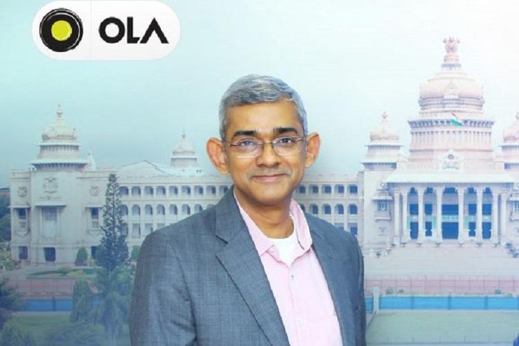 Ola COO Arun Srinivas resigns