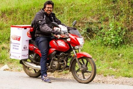 Just pick a place and leave the rest will fall in place Bengalurean who biked across three countries