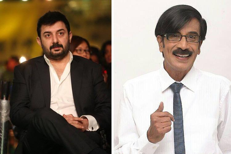Arvind Swamy sues Manobala over non-payment of dues court issues notice