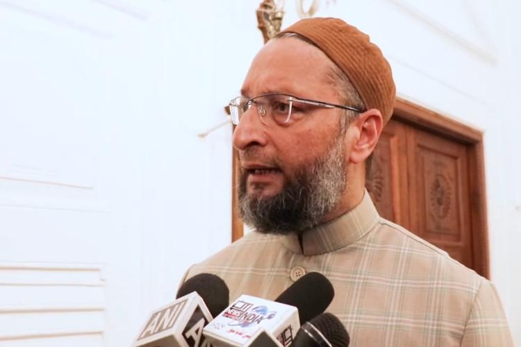 They are scared Owaisi after visiting Bidar women arrested for kids play on CAA-NRC