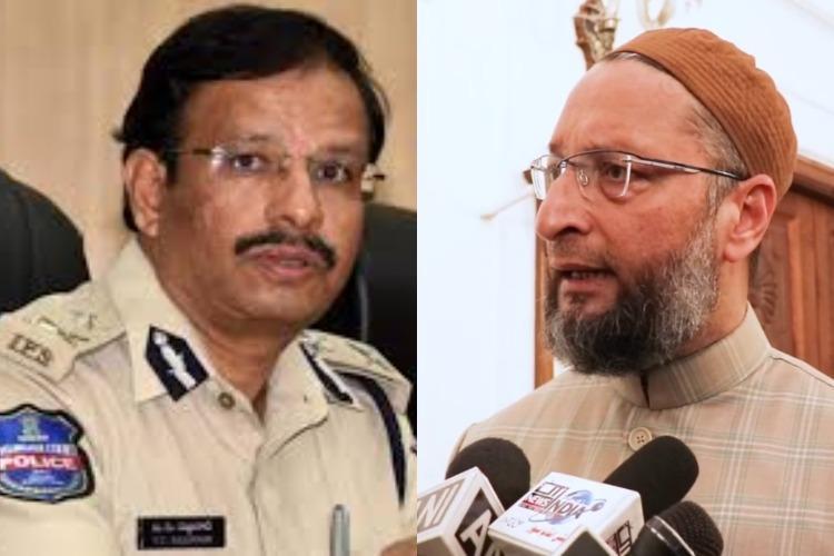 Owaisi slams Cyberabad cop for tweet on Jihadis in Hyderabad IT firms