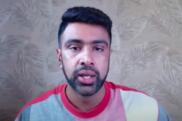 Screenshot of R Ashwin from the video