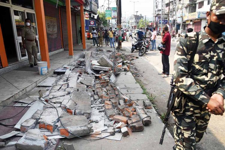 Earthquake measuring 67 hits Assam tremors felt in North East West Bengal