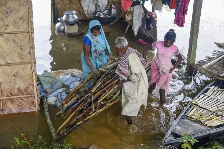 People affected in Assam floods
