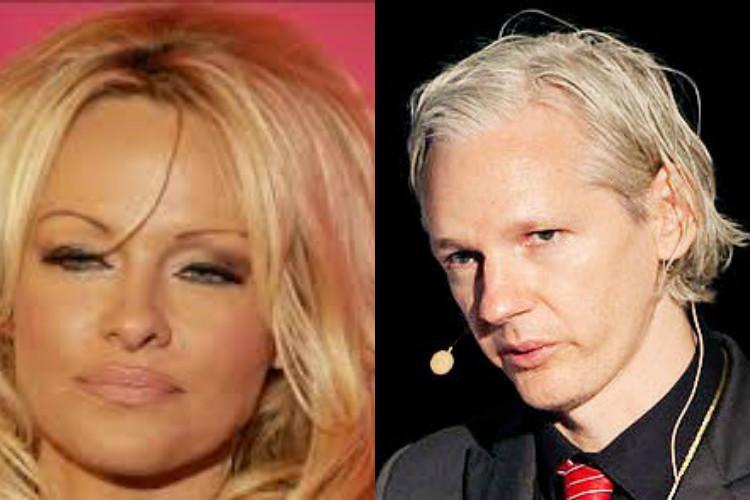 I like Pamela Anderson says Wikileaks founder Julian Assange