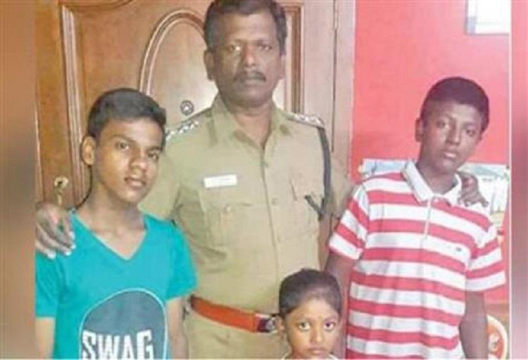 Chennai police officer adopts 12-year-old boy whose mother was murdered