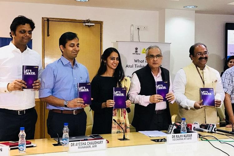NITI Aayog to set up 5000 Atal Tinkering labs in India by March 2019