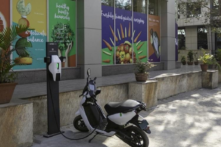 Ather Energy ties up with Godrej Natures Basket to set up charging points at its stores