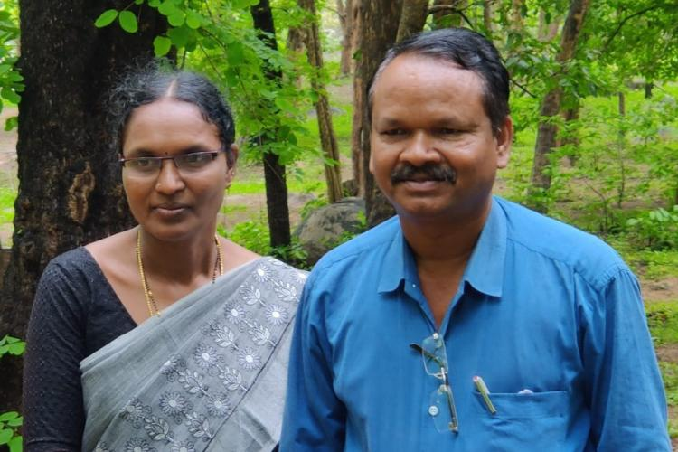 Athram Suguna and Athram Bhujanga Rao