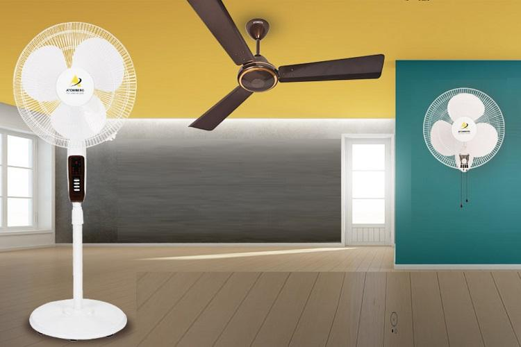 Smart fans maker Atomberg raises 10 million in Series A round led by A91 Partners