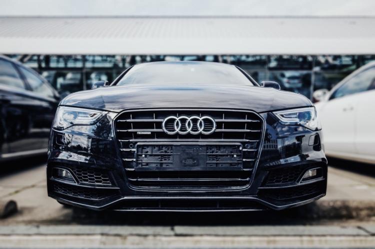 The logo of Audi