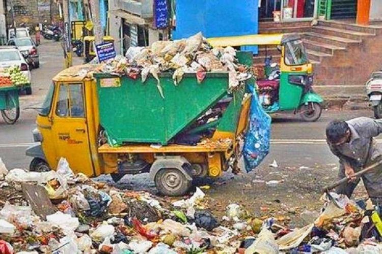 Bengaluru is known for its garbage problem