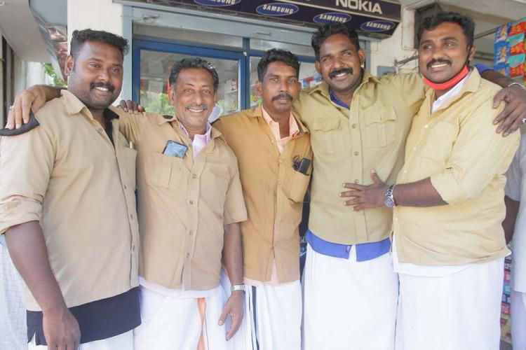 Five auto driver friends contesting against each other in Kerala