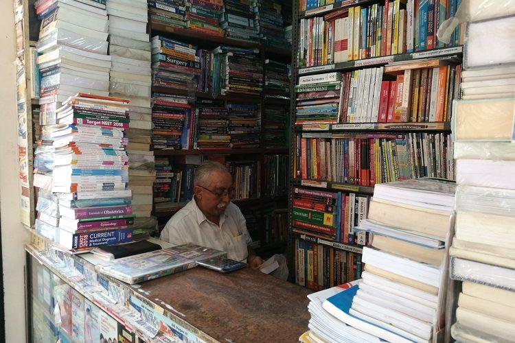 Novels textbooks and more Head to Blurus Avenue Road for second-hand books