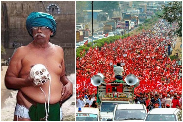 A tale of two protests Why Maha farmers captured govts attention while TN couldnt