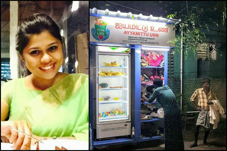How one womans community fridge in Chennai is ensuring the needy dont go to bed hungry