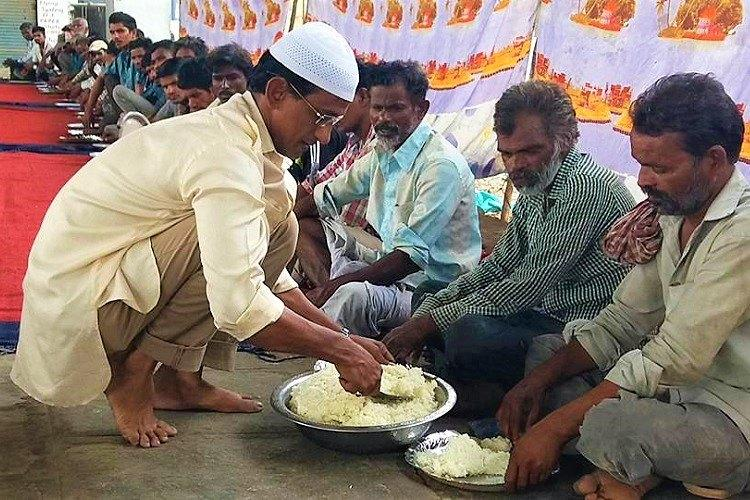 Hunger has no religion For 6 years Hyd resident Azhar Maqsusi has fed those in need