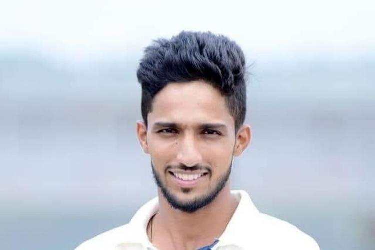 Kerala opener Azharuddeen who scored century in 37 balls wins hearts