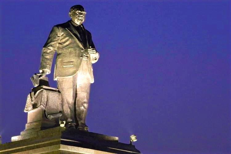 Telangana govt calls for tenders again to build 125-feet tall Ambedkar statue in Hyderabad
