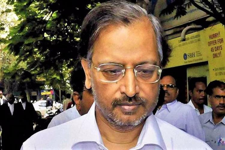 Satyam Computers founder B Ramalinga Raju