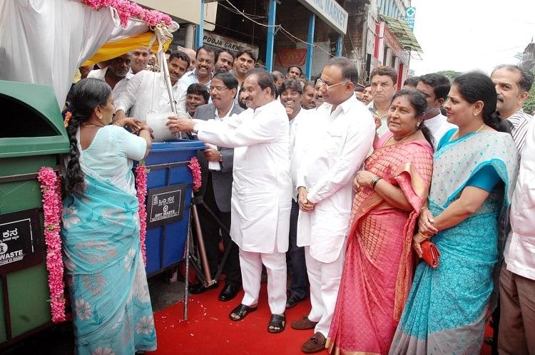 After 17 years Bengalurus streets will have a welcome new addition Garbage bins