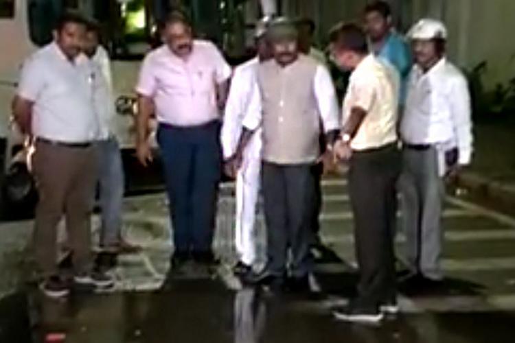 Bengaluru Mayor hops on bike does a surprise inspection of city roads