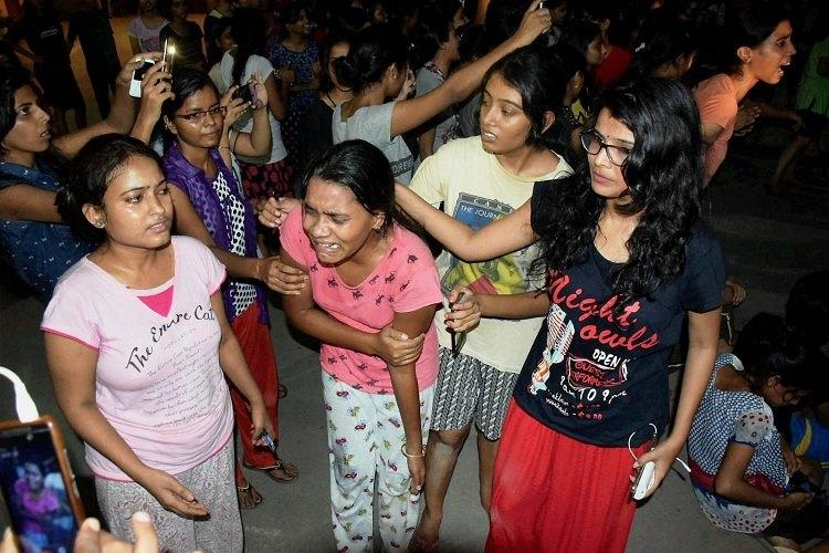 Is this govt version of beti bachao beti padhao Politicians citizens condemn BHU violence