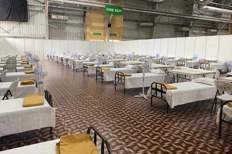 Bengaluru International Exhibition Centre converted into 10000-bed COVID facility