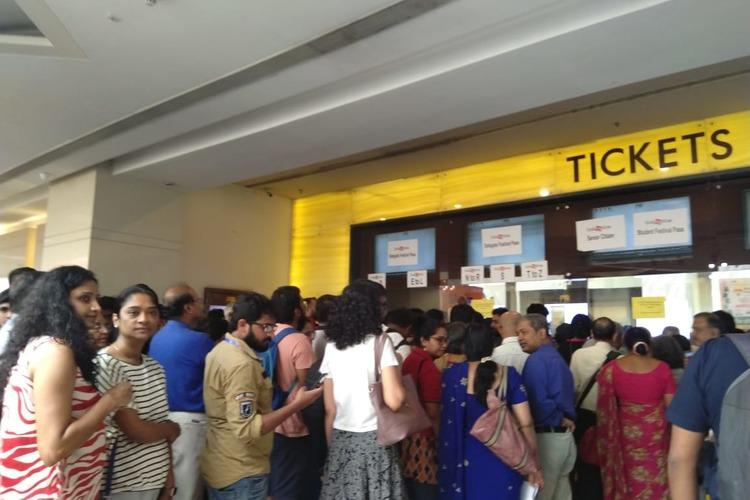 The crowd at Bengaluru Film Festival's 12th Edition held in 2020