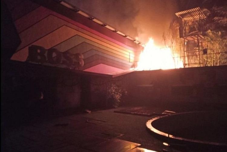 Bigg Boss Kannada sets gutted in massive fire no casualties reported
