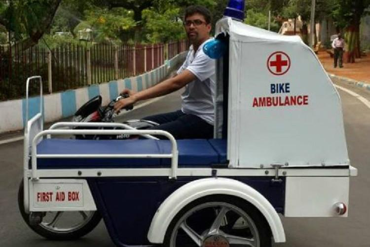 Zipping to the hospital How Telangana mans biker ambulances are saving lives