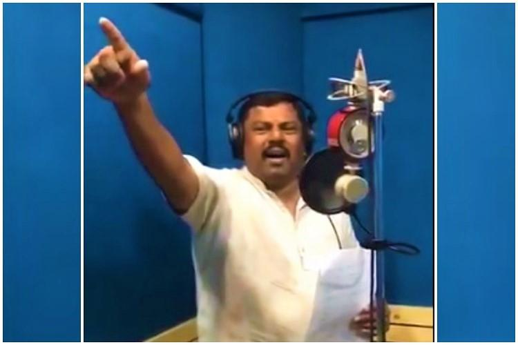 Hyd BJP MLA releases patriotic song Pak army says its a ripoff of their song