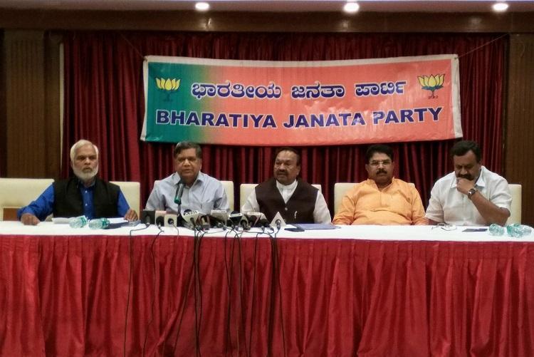 Congress got kickbacks in Rs 2500 cr commission scam alleges Karnataka BJP
