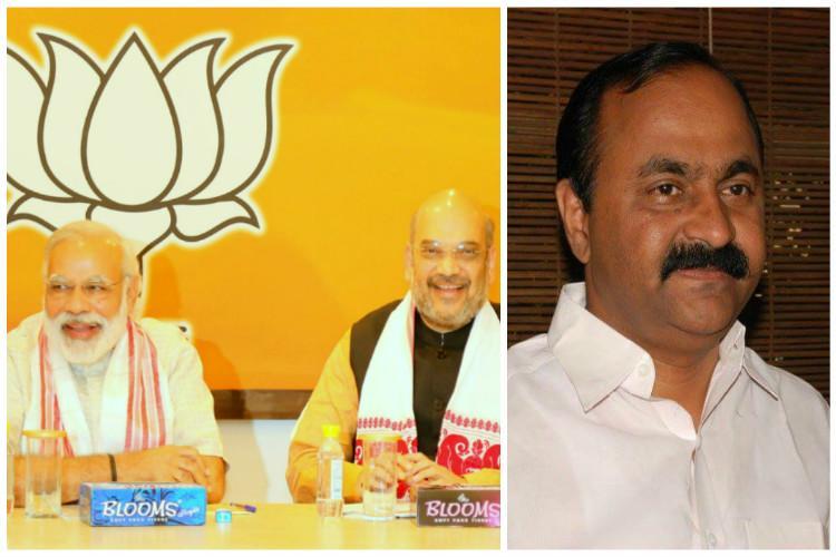 BJP building membership by fraud Kerala MLA files petition with CEC